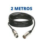 Cable XLR de 2 Metros