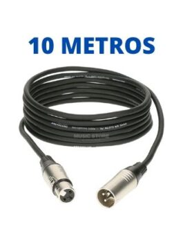 Cable XLR de 10 Metros