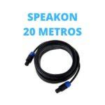 Cable Speakon 20 Metros
