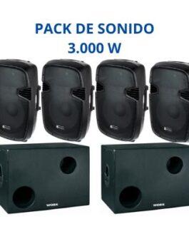 Equipo de Sonido 3.000W