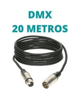 Cable DMX 20 Metros