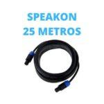Cable Speakon 25 Metros