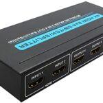 Matriz HDMI 2X4